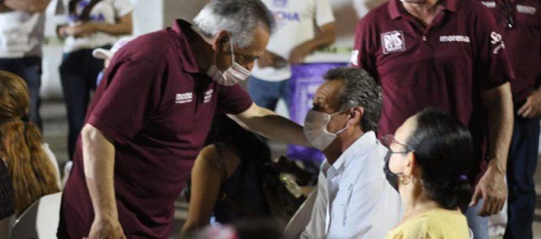 Familias Alvaradenses se declaran listas para votar por Morena-PAS.