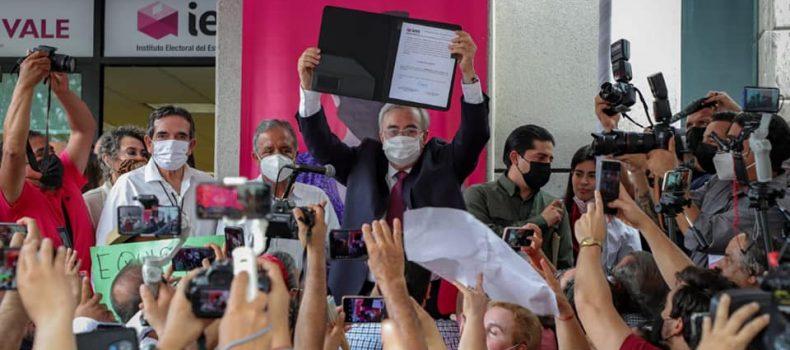 *Rubén Rocha Moya recibe constancia de gobernador electo de Sinaloa*