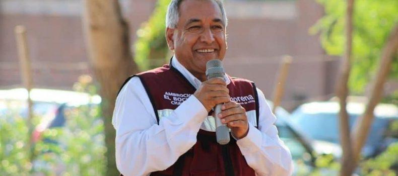 Ambrocio Chávez firme en ser la voz del pueblo en el Congreso del Estado.
