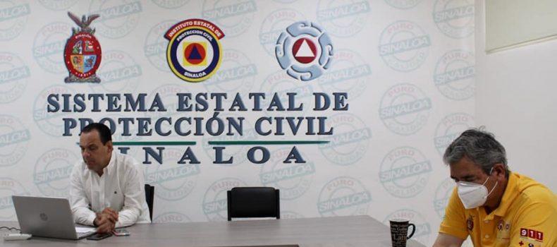 *Acuerdan Protección Civil Sinaloa, Coordinaciones Municipales de PC, Bomberos y Cruz Roja, acciones de resguardo para la jornada electoral de este domingo 6 de junio.*