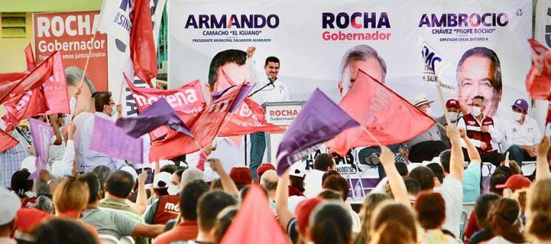 """""""La ciudadanía está creyendo en nuestro proyecto"""", Armando Camacho."""