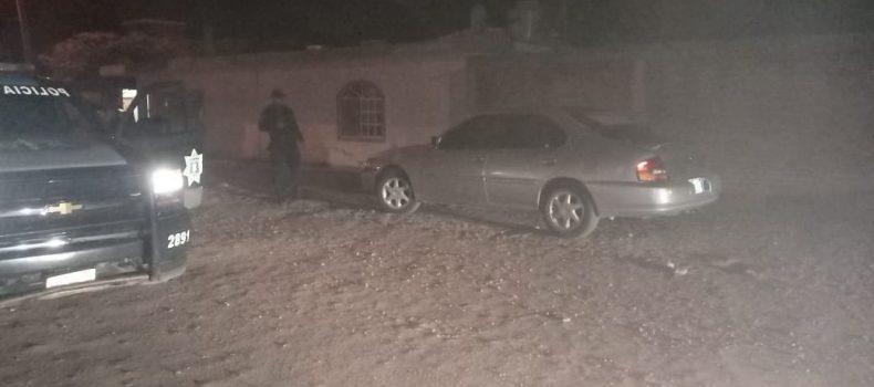 DSPyTM recupera vehículo con reporte de robo en Guamúchil.