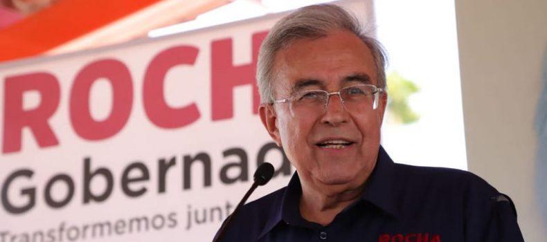 """""""Vamos a actuar como demócratas; vamos a atender y escuchar a las mayorías y minorías"""": Rocha Moya."""