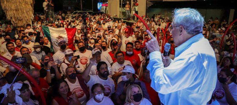 Conteo rápido del IEES determina la victoria de Rubén Rocha Moya, gobernador de Sinaloa.