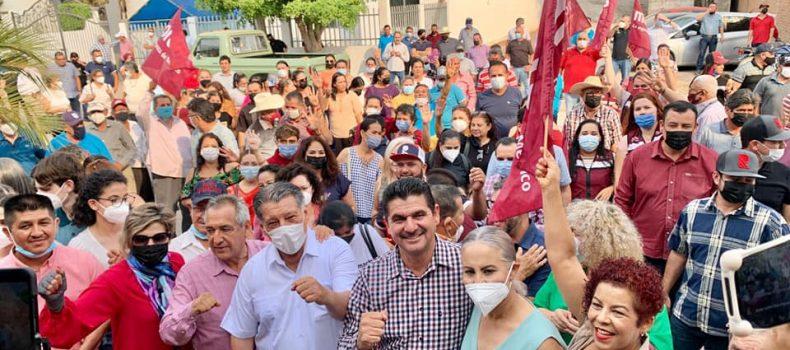 El pueblo decidió; Armando Camacho es el alcalde electo.