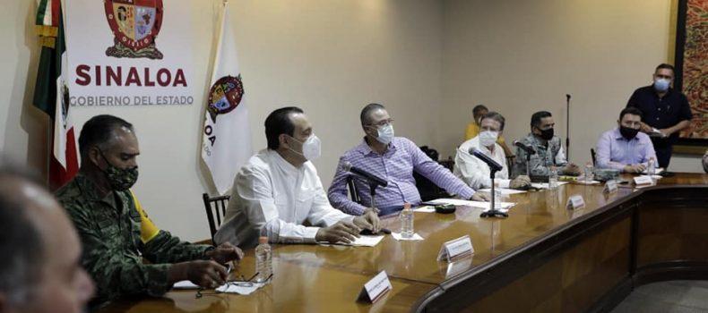 *Ante inicio de lluvias, autoridades instalan Consejo Estatal de Protección Civil*