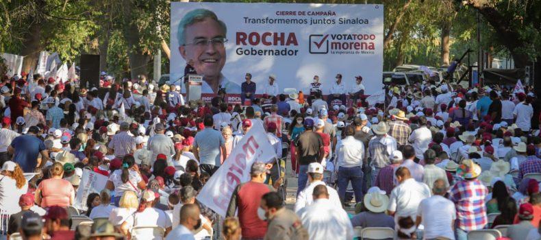 En abarrotado evento angosturenses refrendan apoyo a Ambrocio Chávez para ganar este 6 de junio.