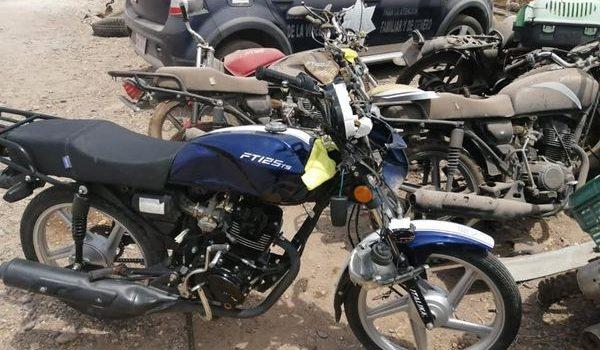 Aseguran siete motocicletas en operativo vial en Salvador Alvarado